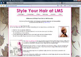 Style Your Hair at LMS
